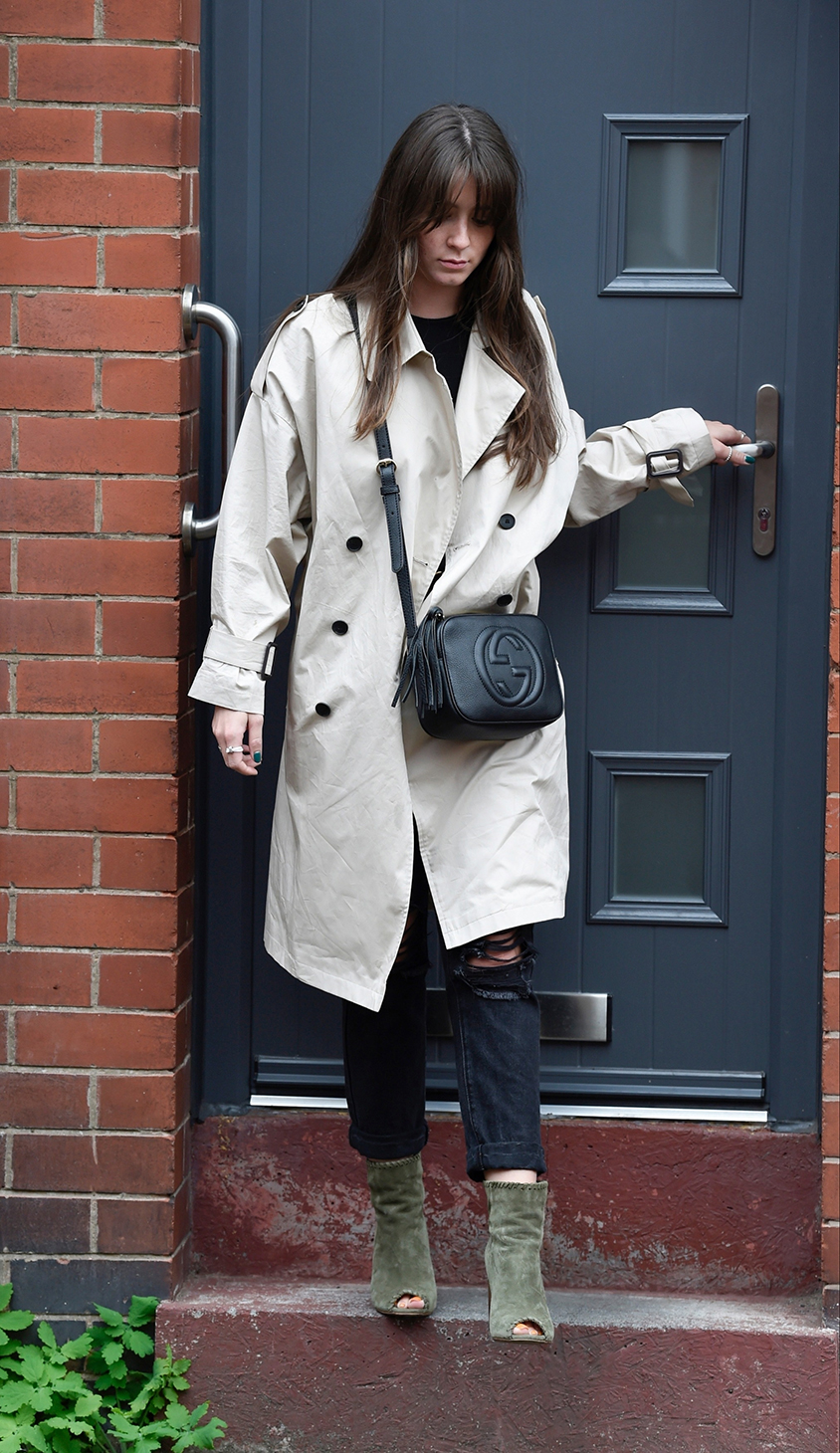 Brooke Vincent Showing Her New Fringe Hair Style At